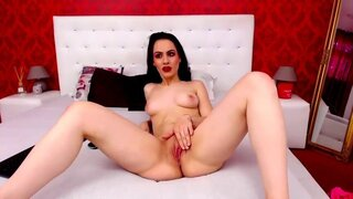 EvaReyde – Sexy Girl show her pussy and fingering